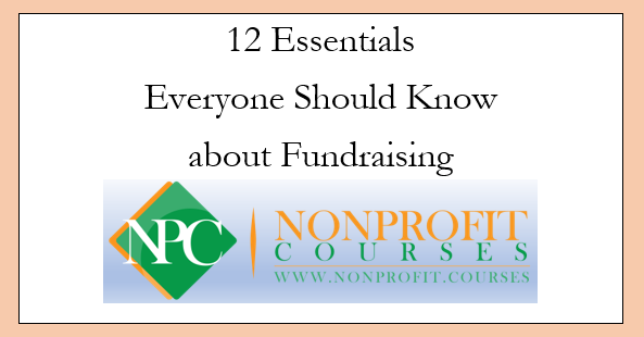 12 Fundraising Essentials