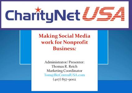Making Social Media Work for Nonprofits