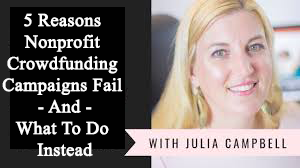Nonprofit Crowdfunding Campaigns Fail