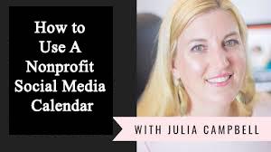 How to Use A Nonprofit Social Media Calendar