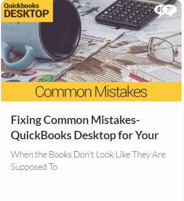 Fixing Common Mistakes in QuickBooks DESKTOP for Your Small Church or Nonprofit