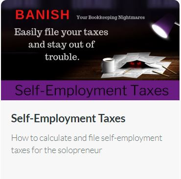 Self-Employment Taxes: How to calculate and file self-employment taxes for the solopreneur