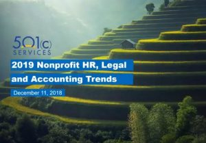 Nonprofit HR Legal and Accounting Trends