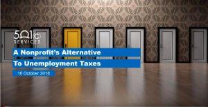 Nonprofits Alternative to Unemployment Taxes