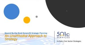 """Beyond """"By the Book"""" Nonprofit Strategic Planning"""