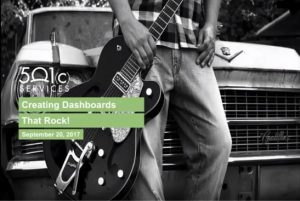 Creating Dashboards that Rock