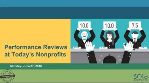 Performance Reviews at Today's Nonprofits