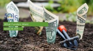 What Funders Want